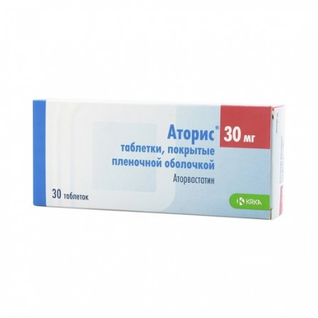 Buy Atoris tablets 30 mg 30 pcs