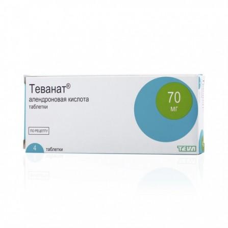Buy Tevanat tablets 4 pcs