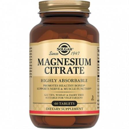 Buy Solgar Magnesium Citrate Tablets 200mg N60