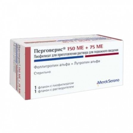 Buy Pergoveris lyophilisate for preparation of solution for subcutaneous injection vials