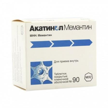 Buy Akatinol Memantine tablets 10 mg 90 pcs