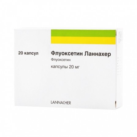 Buy Fluoxetine lannaher capsules 20mg N20