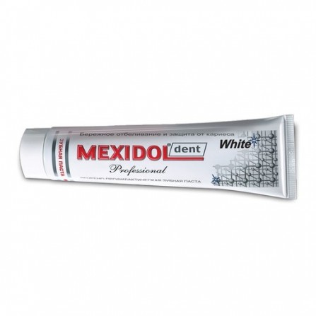 Buy Mexidol dent toothpaste professional whitening 65g