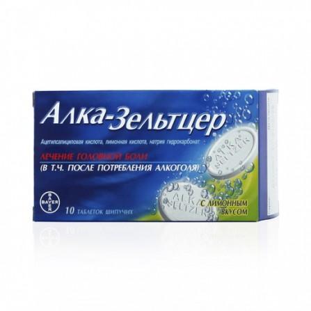 Buy Alka-Seltzer effervescent tablets 10 pcs