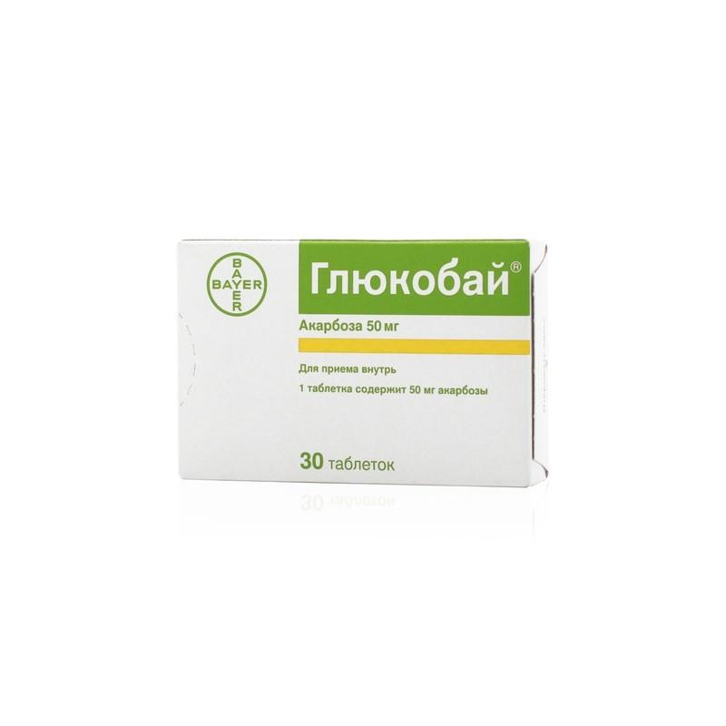 Glucobay 25 mg pt